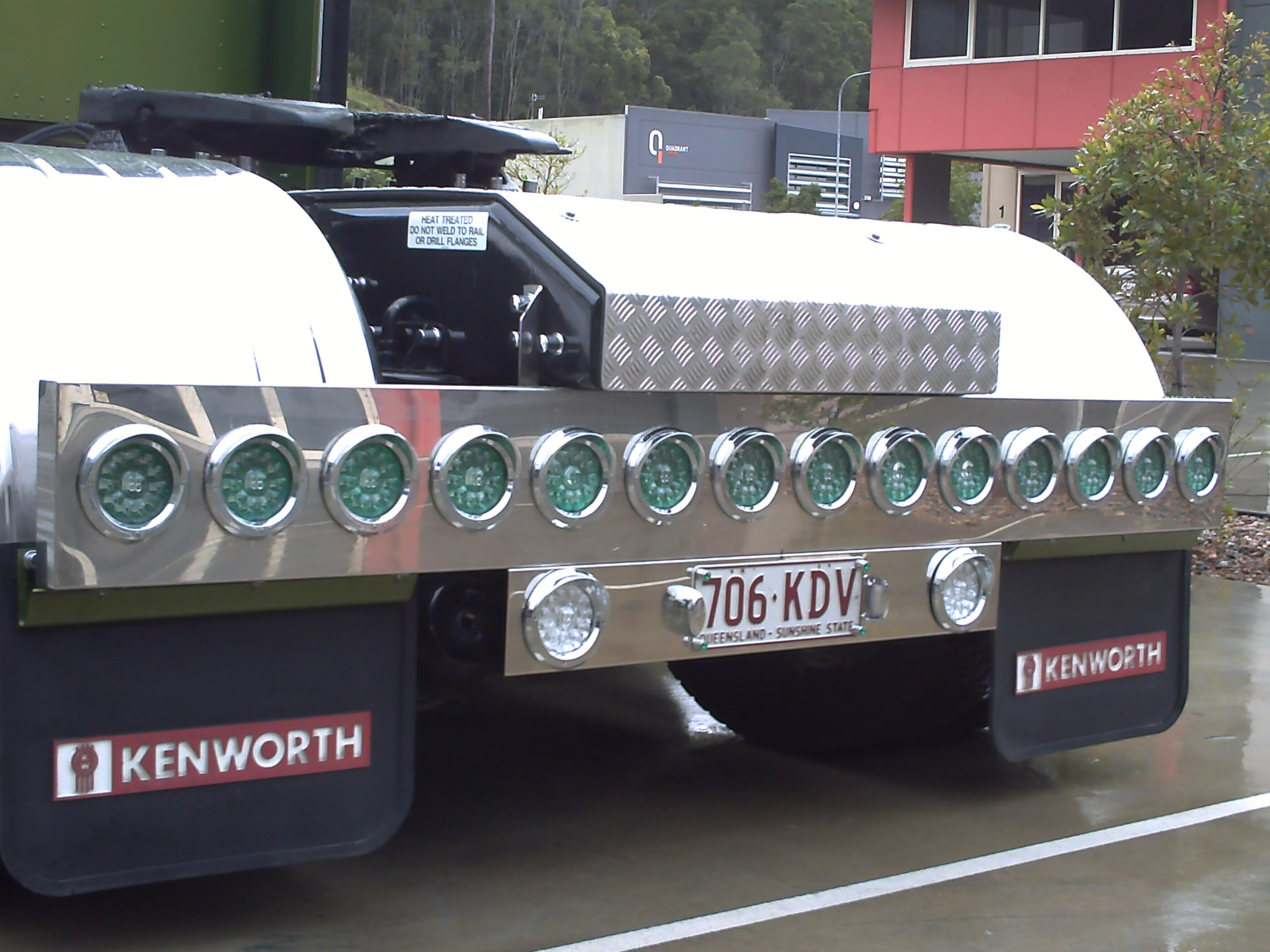 Kenworth highway lights rear tail lights bar aloadofball Images